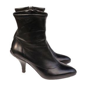 Prada Shoes - PRADA CALZATURE DONNA LEATHER ANKLE BOOT